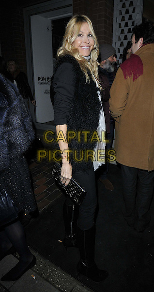 LONDON, ENGLAND - FEBRUARY 04: Melissa Odabash attends the Ron Gorchov exhibition VIP private view, S2, St George St., on Wednesday February 04, 2015 in London, England, UK. <br /> CAP/CAN<br /> &copy;Can Nguyen/Capital Pictures