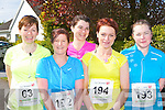 Castlegregory ladies l-r: Maura Moriarty, Mags Spillane, Martina Crean, Rose Smith and Lucy Spillane..in the Lee Strand/An Riocht 10 Miler road race in Castleisland on Sunday morning ..