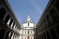 La chiesa di Sant'Ivo alla Sapienza, a Roma.<br /> The church of Sant'Ivo alla Sapienza, in Rome.<br /> UPDATE IMAGES PRESS/Riccardo De Luca