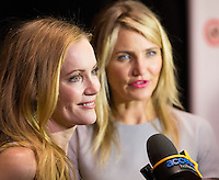 LAS VEGAS, NV - March 27: Leslie Mann and Cameron Diaz pictured arriving at 20th Century Fox Presentation at Cinemacon 2014 at Caesars Palace in Las Vegas, NV on March 27, 2014. © Kabik/ Starlitepics