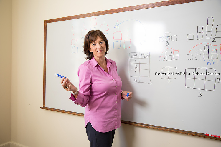 Portrait of Jo Boaler - Professor of Mathematics Education - Stanford