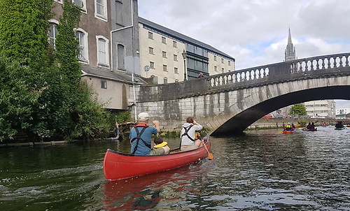 Cork City directly accessed from the sea by last weekend's Corkumnavigation