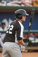 Collin Ferguson (22) of the Grand Junction Rockies at bat against the Ogden Raptors in Pioneer League action at Lindquist Field on July 6, 2015 in Ogden, Utah. Ogden defeated Grand Junction 8-7. (Stephen Smith/Four Seam Images)