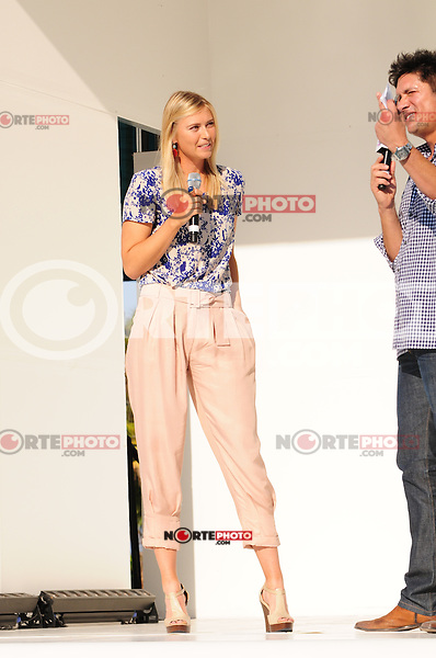 MIAMI BEACH, FL - MARCH 20: Maria Sharapova attends Sony Ericsson Launches Xperia Hot Shots at Doubletree Surfcomber Hotel - South Beach on March 20, 2011 in Miami Beach, Florida. (photo by: MPI10/MediaPunch Inc.)