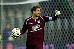 Nederland, Alkmaar, 20 oktober  2012.Eredivisie.Seizoen 2012-2013.AZ-N.E.C..Gabor Babos, keeper (doelman) van N.E.C.