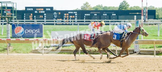 Isolation Road winning at Delaware Park on 9/19/12