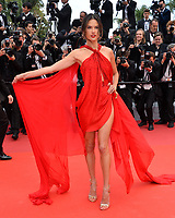"CANNES, FRANCE. May 15, 2019: Alessandra Ambrosio at the gala premiere for ""Les Miserables"" at the Festival de Cannes.<br /> Picture: Paul Smith / Featureflash"