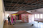 WHORLED EXPLORATIONS - Kochi Muziris Biennale 2014 - Francesco Clemente work.