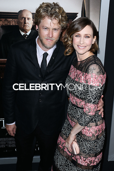 BEVERLY HILLS, CA, USA - OCTOBER 01: Renn Hawkey, Vera Farmiga arrive at the Los Angeles Premiere Of Warner Bros. Pictures And Village Roadshow Pictures' 'The Judge' held at the Samuel Goldwyn Theatre at The Academy of Motion Picture Arts and Sciences on October 1, 2014 in Beverly Hills, California, United States. (Photo by Xavier Collin/Celebrity Monitor)