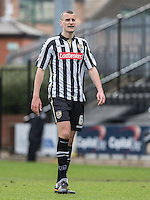 Haydn Hollis of Notts County during the Sky Bet League 2 match between Notts County and Wycombe Wanderers at Meadow Lane, Nottingham, England on 28 March 2016. Photo by Andy Rowland.