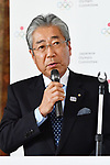 JOCTsunekazu Takeda, <br /> APRIL 21, 2017 : <br /> Japanese Olympic Committee hold Signing ceremony and press conference in Tokyo. Kanagawa Prefecture became partnership for Japanese Olympic Committee. <br /> (Photo by AFLO SPORT)