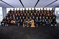 Full staff. The 2019 Wellington Lions Mitre 10 Cup rugby team photo at Westpac Stadium in Wellington, New Zealand on Friday, 11 October 2019. Photo: Dave Lintott / lintottphoto.co.nz