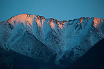 Canigou, the highest mountain in the eastern Pyreenees