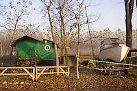 - Brescello (Reggio Emilia), approdo sul fiume Po<br /> <br /> - Brescello (Reggio Emilia), landing place of the Po river
