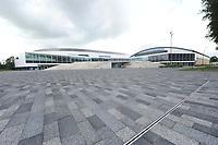 SCHAATSEN: HEERENVEEN; 12-06-2017, IJsstadion Thialf, Zomerijs, vooraanzicht, ©Martin de Jong