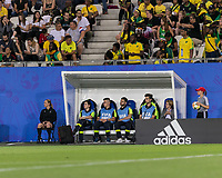GRENOBLE, FRANCE - JUNE 18:  during a game between Jamaica and Australia at Stade des Alpes on June 18, 2019 in Grenoble, France.