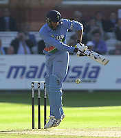 .13/07/2002.Sport - Cricket -NatWest Series Final- Lords.England vs India.Zaheer Khan