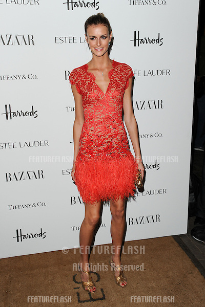 Jaquetta Wheeler arriving for the Harper's Bazaar Women of the Year Awards 2012 at Claridge's Hotel, London. 31/10/2012 Picture by: Steve Vas / Featureflash