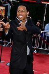 "Actor Brandon T. Jackson arrives at the Los Angeles Premiere Of ""Tropic Thunder"" at the Mann's Village Theater on August 11, 2008 in Los Angeles, California."
