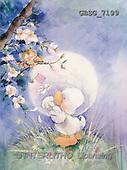 Ron, CUTE ANIMALS, Quacker, paintings, duck, oal, tree(GBSG7199,#AC#) Enten, patos, illustrations, pinturas
