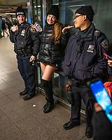 No Pants Subway Ride NYC