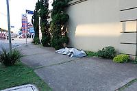 SÃO PAULO.SP 27.05.2015 CRIME-SP - Corpo de um Homem foi encontrado pela Policia Militar no Rio Tamanduatei na altura da Av do Estado x Rua Dos Palmares no bairro do Ipiranga região Sul de São Paulo nesta quarta-feira, 27. (Foto:Carlos Pessuto/Brazil Photo Press)