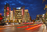 Silver Spring MD - downtown buildings and lifestyle