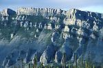 Sapper Hill, Yukon Territories, Canada, rocky outcrops & castellations