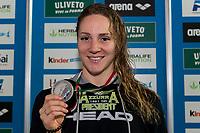 Ilaria Bianchi Azzurra 91 Medaglia Argento <br /> 50m Farfalla Donne <br /> Riccione 01/12/2018 Stadio del Nuoto <br /> Campionato Italiano Open vasca corta 2018 FIN<br /> Photo &copy; Andrea Staccioli/Deepbluemedia/Insidefoto