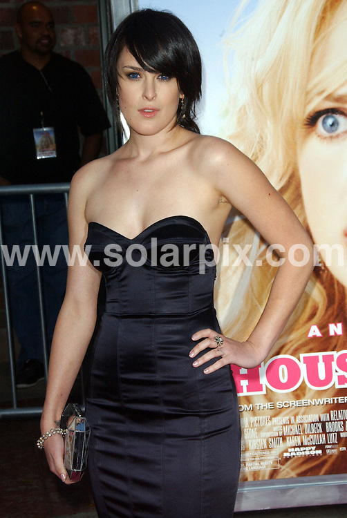 "**ALL ROUND PICTURES FROM SOLARPIX.COM**.**SYNDICATION RIGHTS FOR UK, SPAIN, PORTUGAL, AUSTRALIA, S.AFRICA & DUBAI (U.A.E) ONLY**.arrivals for the Los Angeles Premiere of ""The House Bunny"" at Mann's Village Theatre, Westwood, CA, USA. 20th August 2008..This pic: Rumer Willis..JOB REF: 7061 PHZ/Ortega    DATE: 20_08_2008.**MUST CREDIT SOLARPIX.COM OR DOUBLE FEE WILL BE CHARGED* *UNDER NO CIRCUMSTANCES IS THIS IMAGE TO BE REPRODUCED FOR ANY ONLINE EDITION WITHOUT PRIOR PERMISSION*"