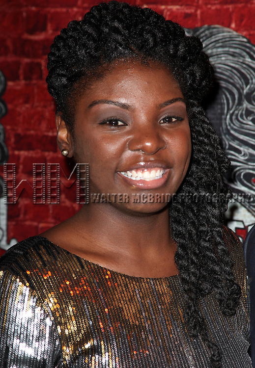 Joaquina Kalukango.attending the Opening Night Performance After Party for the Broadway Revival of 'Godspell' at Planet Hollywood in New York City.