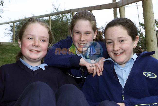 Heather Sullivan Garballagh, Sarah Murray Millrace, Donna Ryan Athcarne in Sonairte..Pic Fran Caffrey Newsfile..