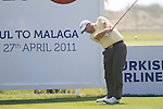 Kenneth Ferrie (ENG) in action on the 16th tee during Day 1 Thursday of the Open de Andalucia de Golf at Parador Golf Club Malaga 24th March 2011. (Photo Eoin Clarke/Golffile 2011)