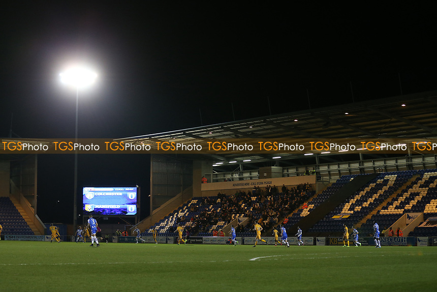 General view during Colchester United vs Mansfield Town, Sky Bet EFL League 2 Football at the Weston Homes Community Stadium on 14th March 2017