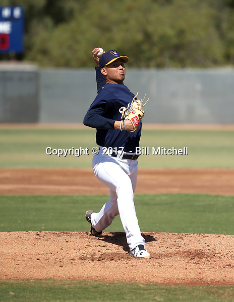 Karlos Morales - 2017 AIL Brewers (Bill Mitchell)