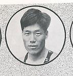 Yoshiyuki Tsuruta (JPN), 1932 - Swimming : A portrait of Yoshiyuki Tsuruta of Japan. (Photo by Kingendai Photo Library/AFLO)[2373]