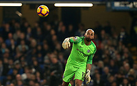 Wilfredo Caballero of Chelsea during Chelsea vs Tottenham Hotspur, Premier League Football at Stamford Bridge on 27th February 2019