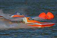 "Doug Martin,S-33 ""Keen's Sunday Money"" and Alexis Weber, S-55 (2.5 Litre Stock hydroplane(s)"