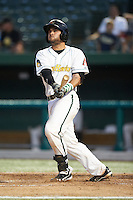 South Bend Silver Hawks catcher Roidany Aguila #24 during a Midwest League game against the West Michigan Whitecaps at Coveleski Stadium on August 15, 2012 in South Bend, Indiana.  West Michigan defeated South bend 7-1.  (Mike Janes/Four Seam Images)