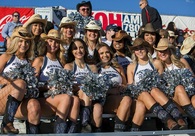 The Nevada Cheerleaders during the Reno Rodeo Nevada Blue Night on Wednesday, June 26, 2019.