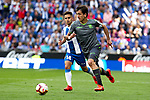 Real Sociedad's Mikel Oyarzabal and RCD Espanyol's Oscar Melendo during La Liga match. May, 18th,2019. (ALTERPHOTOS/Alconada)
