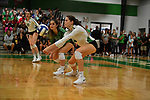 DENTON, TX - SEPTEMBER 9:  - North Texas Mean Green Volleyball vs Wisconsin Badgers at Apogee Stadium in Denton on September 9, 2018 in Denton, Texas. Rick Yeatts Photography/ Manny Flores