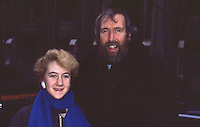 Jim Henson &amp; Daughter 1985 By<br /> Jonathan Green