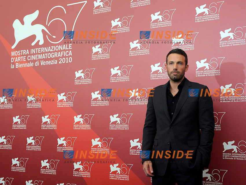 """- """"67 Mostra Internazionale D'Arte Cinematografica"""". Wednesday, 2010 September 08, Venice ITALY..- In The Picture: The film director and actor Ben Affleck at the photocall for the film """"THE TOWN""""...Photo STEFANO MICOZZI / Insidefoto"""