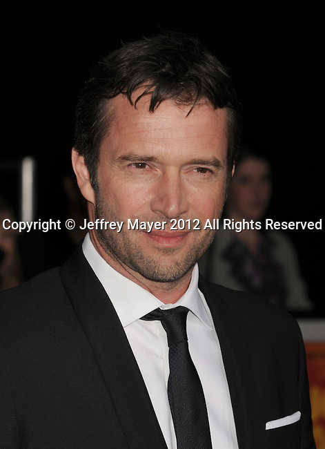 LOS ANGELES, CA - FEBRUARY 22: James Purefoy attends the 'John Carter' Los Angeles premiere held at the Regal Cinemas L.A. Live on February 22, 2012 in Los Angeles, California.