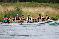 Race: 143  W.8+ (Band 1)  Final<br /> <br /> Peterborough Summer Regatta 2018 - Saturday<br /> <br /> To purchase this photo, or to see pricing information for Prints and Downloads, click the blue 'Add to Cart' button at the top-right of the page.