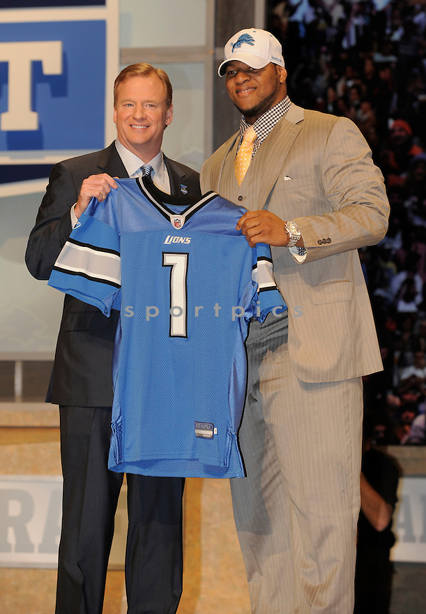 2010 NFL Draft at Radio City Music Hall in New York City, New York ..Ndamukong Suh