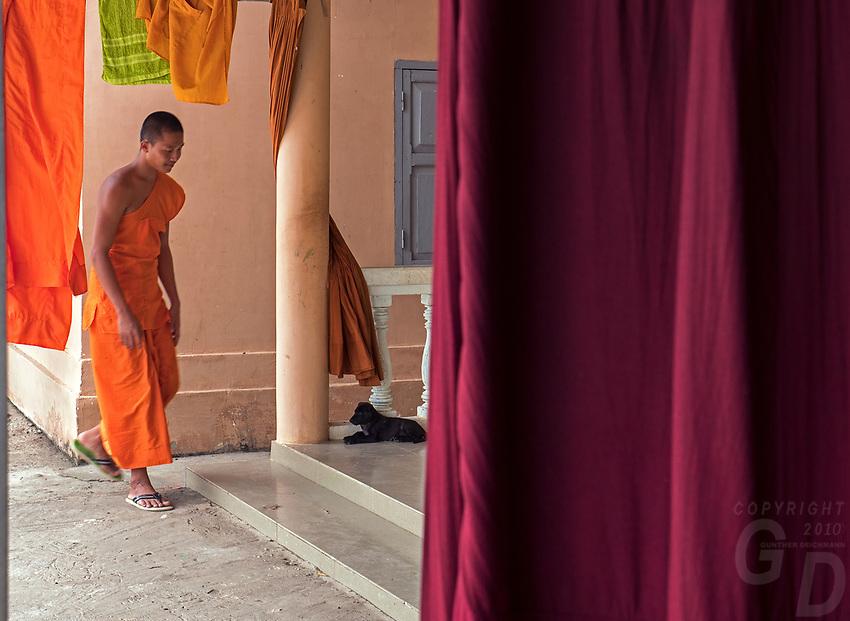 Battambang Buddhist Monastery, Cambodia
