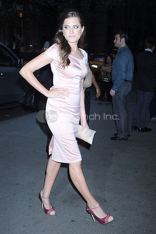 Allison Williams at the New York Premiere of 'The Conspirator' at The Museum of Modern Art in New York City. April 11, 2011. Credit: Dennis Van Tine/MediaPunch