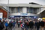 Fans make their pilgramage from the Subway up to Ibrox before kick-off
